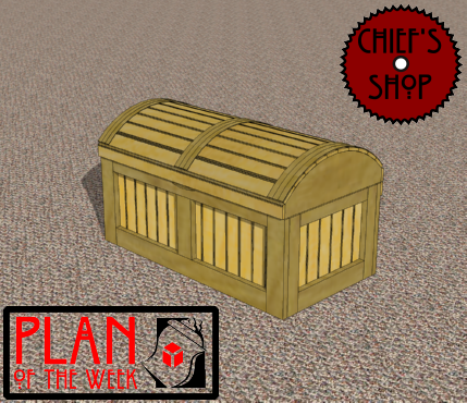 Pirate Chest Toy Box Plans Pirate's Chest Toy Box